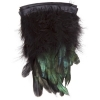 Coque/marabou Trim 6-7in 1Yd Approx 17g Black